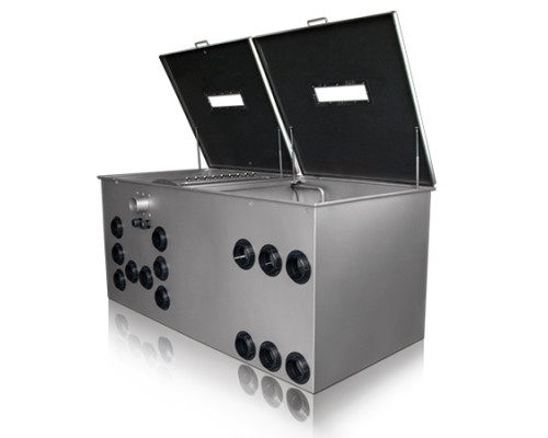 Техническое обслуживание оборудования системы фильтрации воды в пруду серии PRO