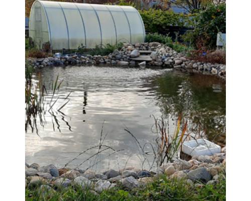 Ремонт гидроизоляции водоема или пруда