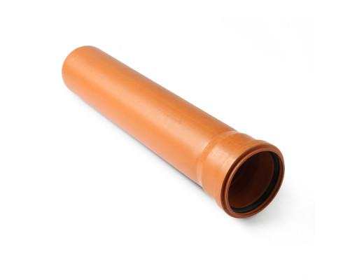 Труба ПВХ FK plast Европласт D=110x3,2x1000 мм
