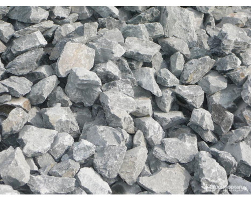 КОЛОТЫЙ природный камень для пруда отборный фракция 70-150