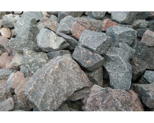 КОЛОТЫЙ (рваный) природный гранит отборный фракция 70-150