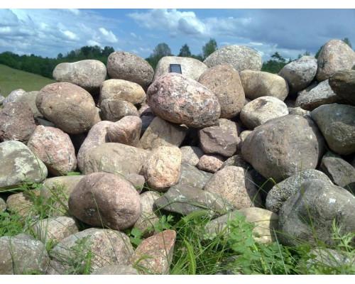 Крупный Округлый (Валун) природный камень фракция 400-600