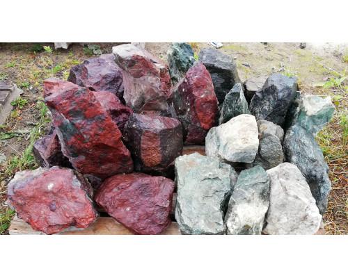 Природный камень для ландшафта отборный (Дикарь) фракция 250-400