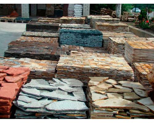 Природный камень для ландшафта (Плиты) фракция 100-200