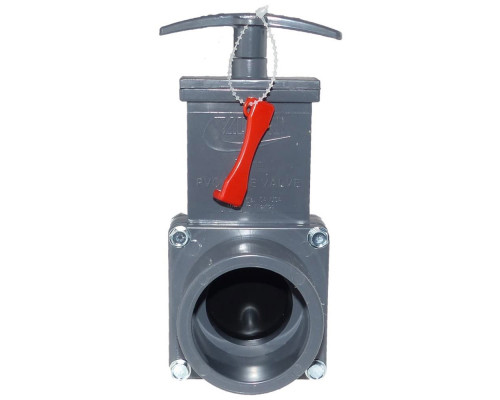 Задвижка ПВХ для трубопровода, 50 мм