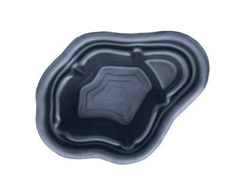 Пруд пластиковый, 130х83x45 см, 190 л