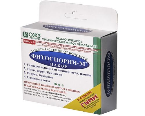 """Биофунгицид универсальный """"Фитоспорин-М набор"""", 60 г"""