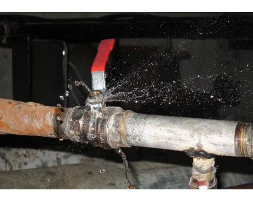 Восстановление герметичности трубопровода системы автоматического полива